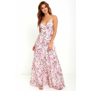 Lulus garden Grove maxi dress